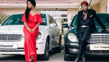 Photos Of Eric Omondi And His Girlfriend With Their New Sleek Cars.