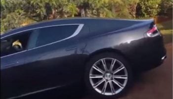 Check Out This Video Of Waiguru Son Driving A Ksh 20 Million Car.