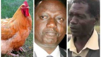 Meet Hawker Who Used To Sell Chicken With Deputy President Ruto Back In His Hustling Days
