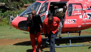 Kenyan Politicians Who Own Choppers ,Uhuru,Ruto and Raila Top The List