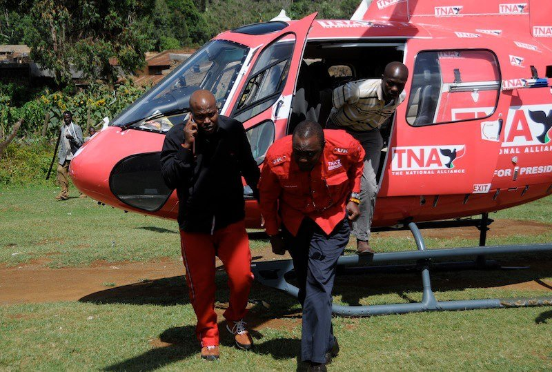 Image result for Kalonzo Musyoka helicopter