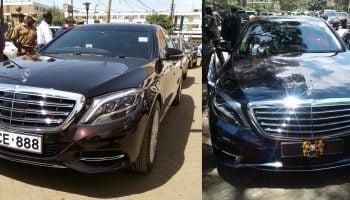 Uhuru Kenyatta and Sportpesa CEO Drive The Same Type Of Car