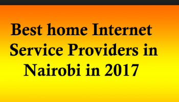 Most Affordable Internet Providers In Nairobi
