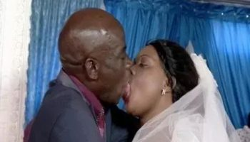 7 Hilarious Photos Of Couples Kissing At Weddings That Will Make Your Day Instantly Better. The 6th One Is The Best Ever!