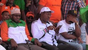 The list of Raila Odinga's presidential campaign team.