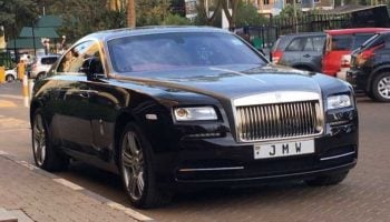 Photos of Jimmy Wanjigi's Rolls Royce car that Costs 30 Million before tax and duty