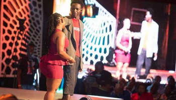 4 Photos Of Churchill Show's MCA Tricky Hot Girlfriend