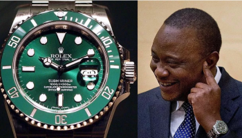 Expensive Watches In President Uhuru Kenyatta's Collection