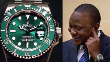 Expensive Watches In President Uhuru Kenyatta's Collection