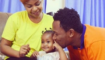 8 Best Family Photos Of  Kenyan Gospel Power Couple DJ MO and  Size 8