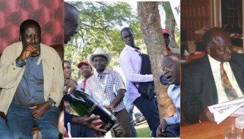 Favorite Drinks Of Major Kenyan Politicians ,Uhuru, Raila, Kibaki & many more