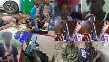 List Of Most dangerous criminal Gangs In Nairobi