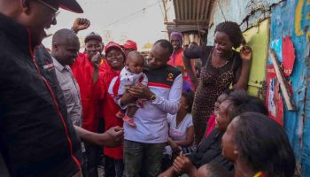 Musician Jaguar Still Remains a favorite to win the Starehe Parliamentary Seat