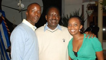 Raila Odinga's Son is Truly Blessed. Just take a look at his wife and children