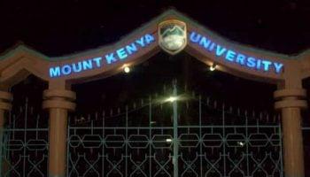 Short Courses Offered at Mount Kenya University