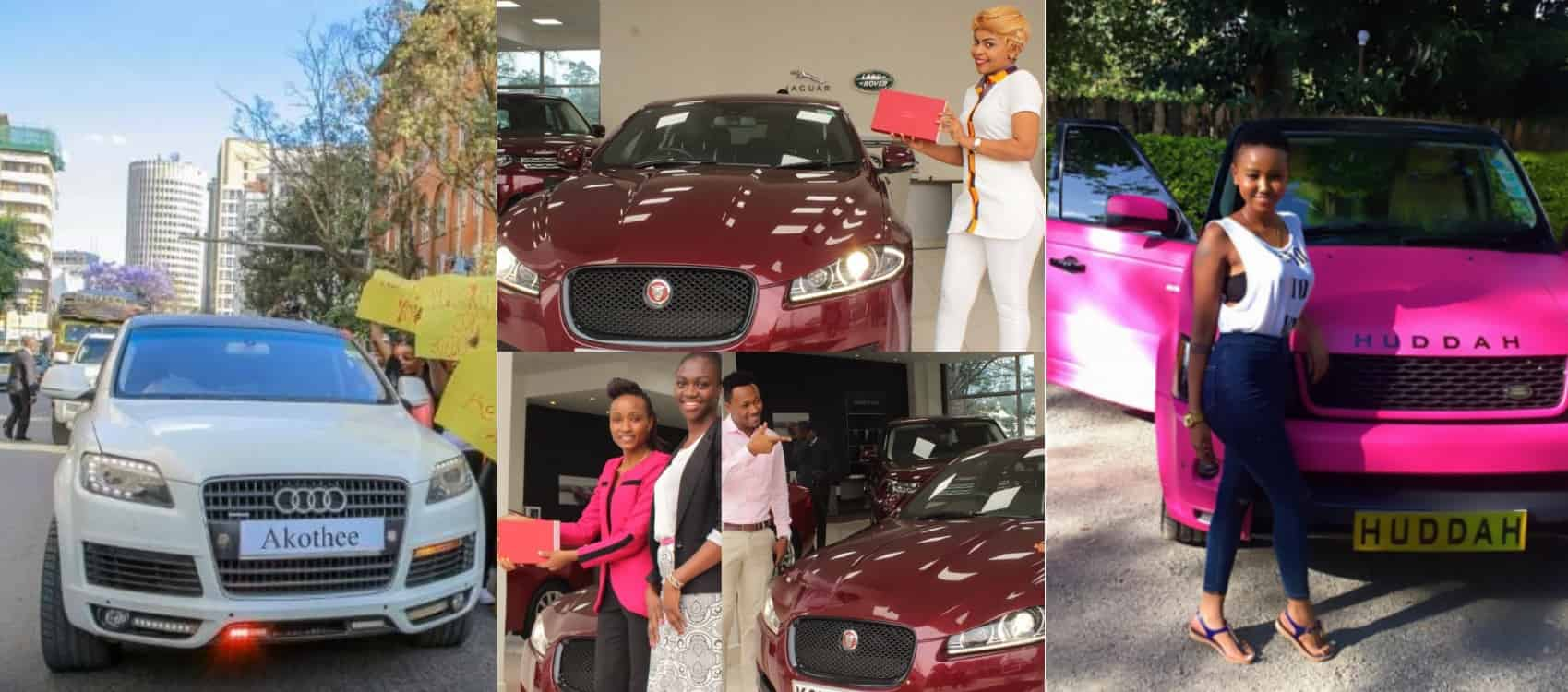 12 Kenyan Female Celebs With Most Expensive Cars