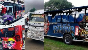 List of 18 Best Pimped and Finest Matatus in Nairobi