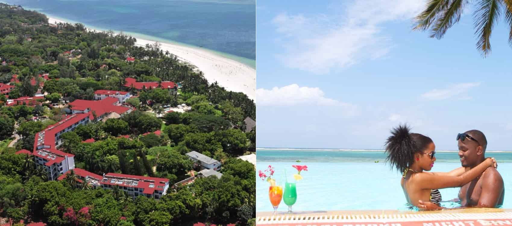 List of affordable honeymoon destinations in mombasa kenya for Beach honeymoon destinations in the us