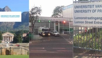 List of Top 10 Universities in South Africa