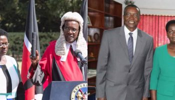 Meet Chief Justice David Maraga 's  Beautiful Wife Photos