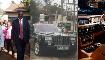 Photos of Evans Kidero's 40 Million Phantom Rolls Royce