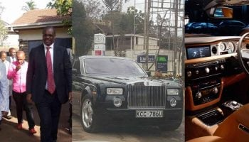 Photos of Evans Kidero's 40 Million Phantom Rolls Royce