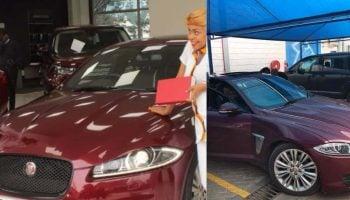 Photos of Size 8's Brand New Jaguar Worth 4.6 Million