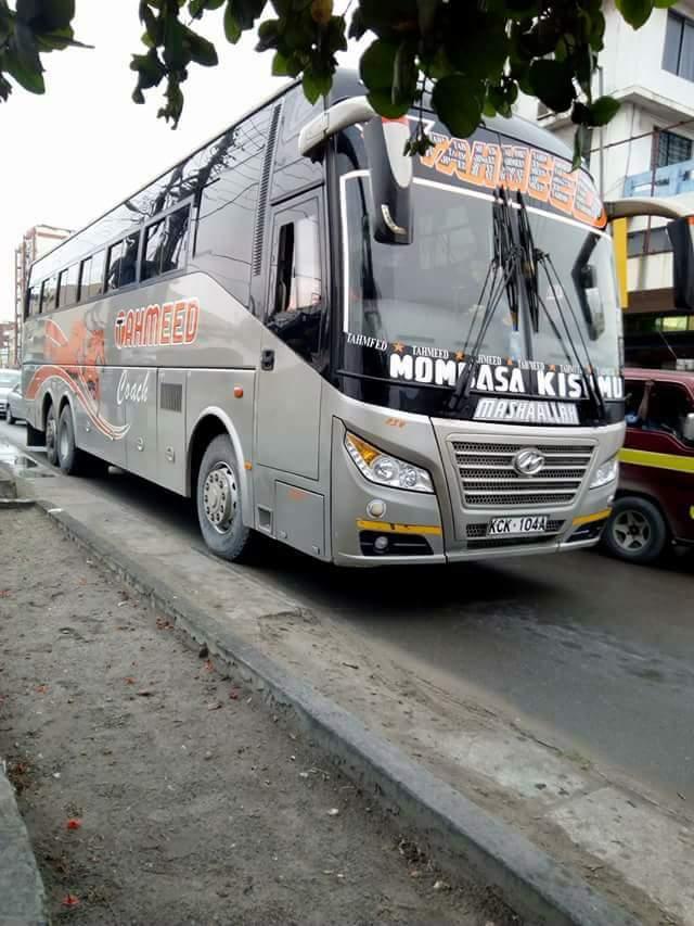 Best Buses From Nairobi to Mombasa