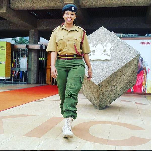 Image result for cute police kenya