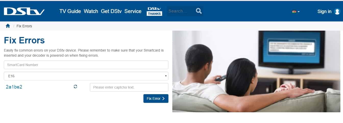 How to Clear e16-4 Error on DSTV and GOtv