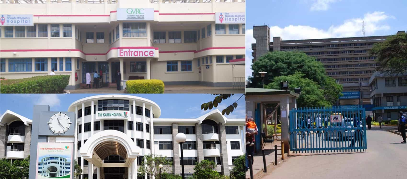 list of maternity charges for hospitals in nairobi victor matara