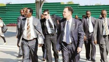 Meet Raila Odinga 's Longtime no nonsense Elite Bodyguard  (Photos )