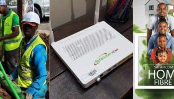 Safaricom Home Fibre Rates 2019