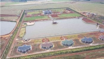 Latest Photos Of the Almost Complete 1.2 Billion William Ruto's House in Eldoret