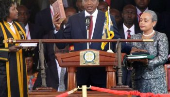 List Of Heads Of State Who Attended President Uhuru Kenyatta's Inauguration