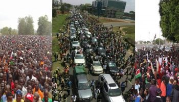 The Greatest Political Receptions And Processions To Ever Happen In Kenya