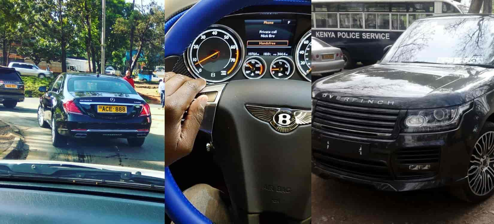 SportPesa CEO Ronald Karauri Cars Photos