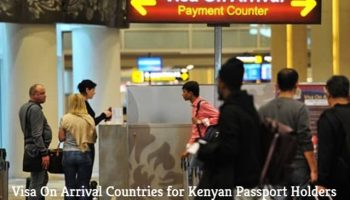 List Of Visa On Arrival Countries for Kenyan Passport Holders