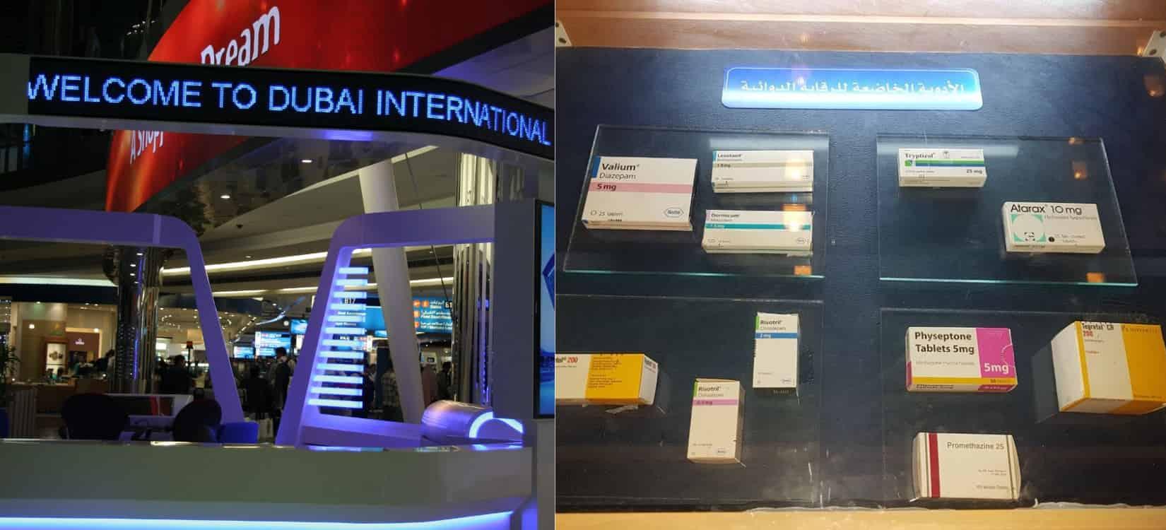 Dubai Told Forbudte Lægemidler