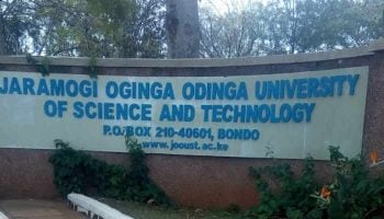 Courses Offered at Jaramogi Oginga Odinga University of Science and Technology