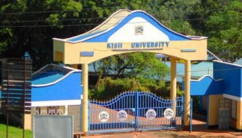 List Of Accredited Courses Offered at Kisii University