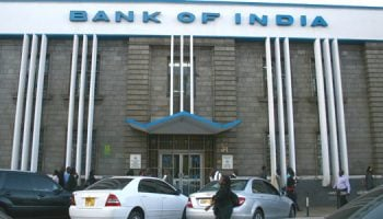 List Of All Bank of India Branch Codes in Kenya