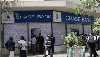 List Of All Chase Bank Branch Codes in Kenya