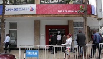 List Of All Chase Bank Branches in Kenya