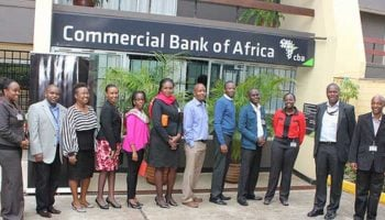 List Of All Commercial Bank of Africa Branch Codes in Kenya
