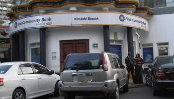 List Of All First Community Bank Branch Codes in Kenya
