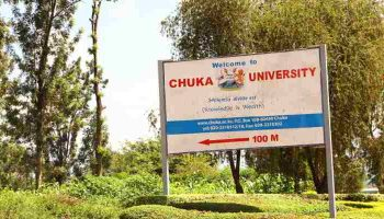 List Of Accredited Courses Offered at Chuka University