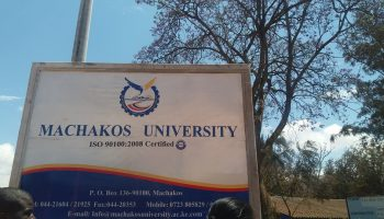 List Of Courses Offered at Machakos University