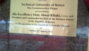 List Of Courses Offered at Technical University of Kenya