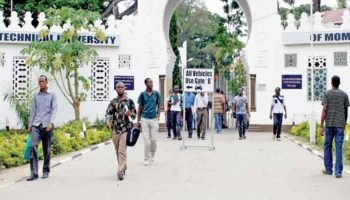 List Of Courses Offered at Technical University of Mombasa